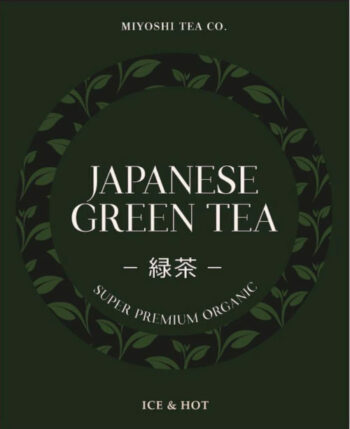 Miyoshi Tea Co. Organic Green Tea