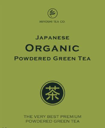 Miyoshi Tea organic powdered Matcha green tea