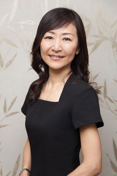 Tomoko - acupuncture therapist at Hiro Miyoshi at The Ritz