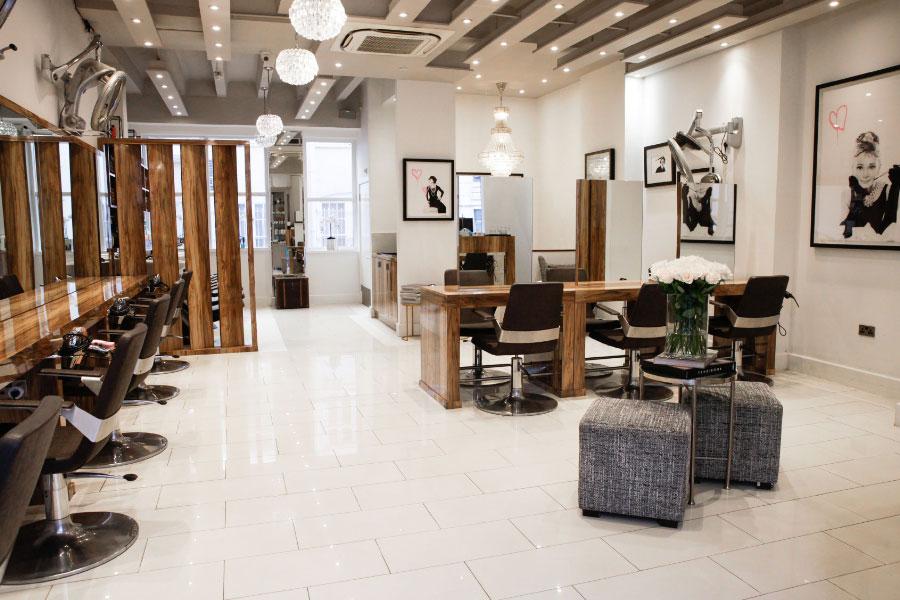 The interior at Hiro Miyoshi in Mayfair has modern Japanese design