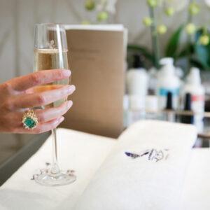 Champaign Manicure at The Ritz London