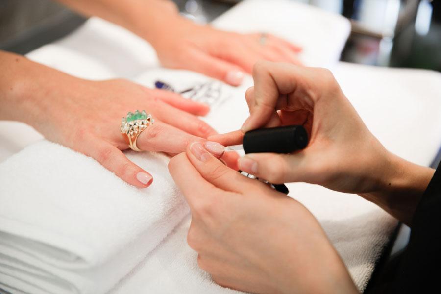 Manicure at Hiro Miyoshi at The Ritz