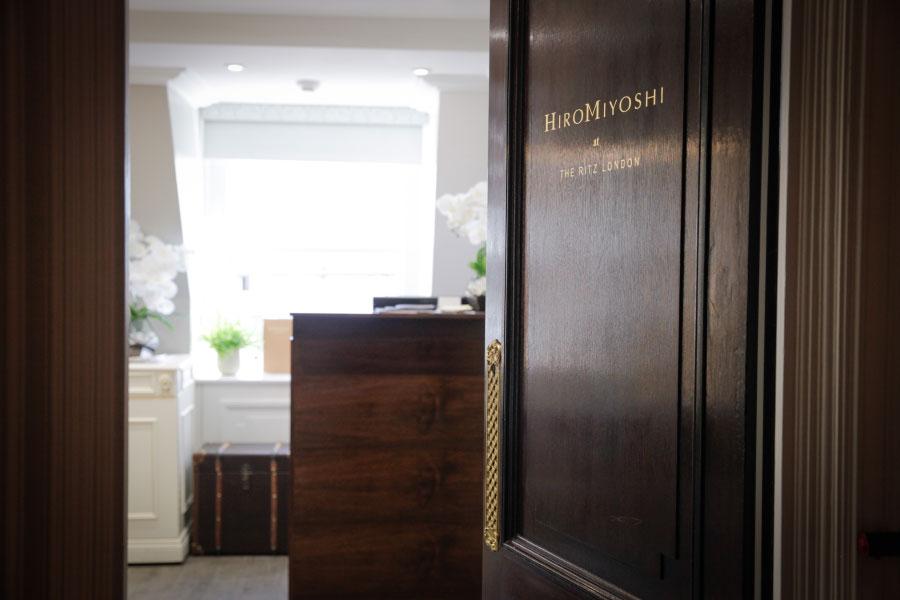 Entering Hiro Miyoshi at The Ritz London
